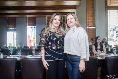 Ana Valéria Teixeira e Clara Pedrosa