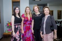 Beatriz Lima, Danielle Pinheiro, Carine Lima e Ana Virginia