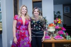 Danielle Pinheiro e Ana Valéria Teixeira