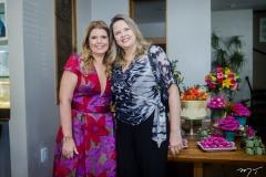 Danielle Pinheiro e Angela Borges