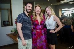 Guilherme Arruda, Danielle Pinheiro e Thais Rodrigues
