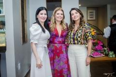 Lia Gentil, Danielle Pinheiro e Márcia Travessoni