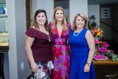 Lucitânia Feijão, Danielle e Lúcia Pinheiro