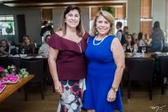 Lucitânia Feijão e Lúcia Pinheiro