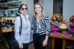 Luluda e Fernanda Sayão