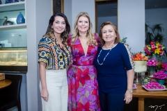 Márcia Travessoni, Danielle Pinheiro e Etel Rios