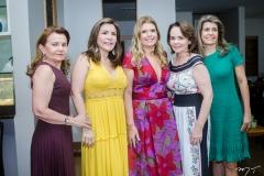 Sônia Praça, Andréa Bonorandi, Danielle Pinheiro, Lina Mendonça e Elida Escóssia