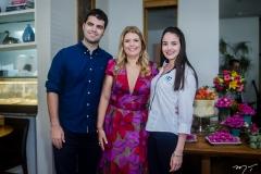 Victor, Danielle e Lia Studart