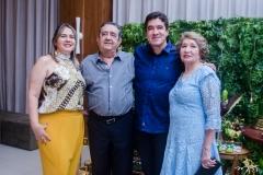 Geovana Paula Pessoa, Vicente Paulo Régis e Zilda Teixeira