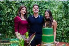 Rachel, Davi e Beatriz Teixeira