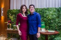 Rachel e Paulo Régis Teixeira