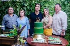Vicente, Zilda Teixeira, Davi Teixeira, Geovana Paula Pessoa e Gil Vicente