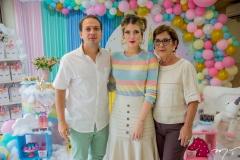 Humberto Cavalcante, Raquel Macedo E Diana Cavalcante