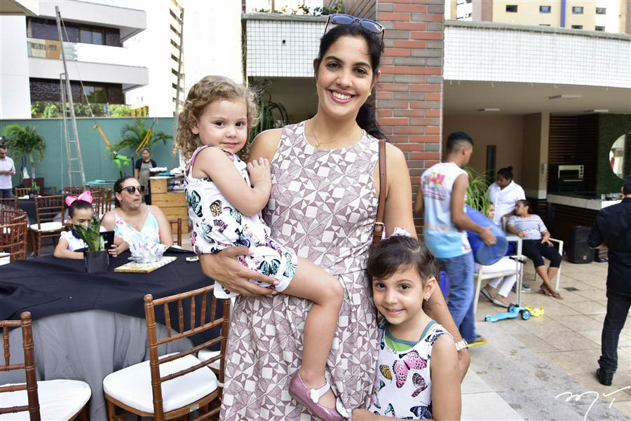 Bianca, Juliana e Melissa Batista