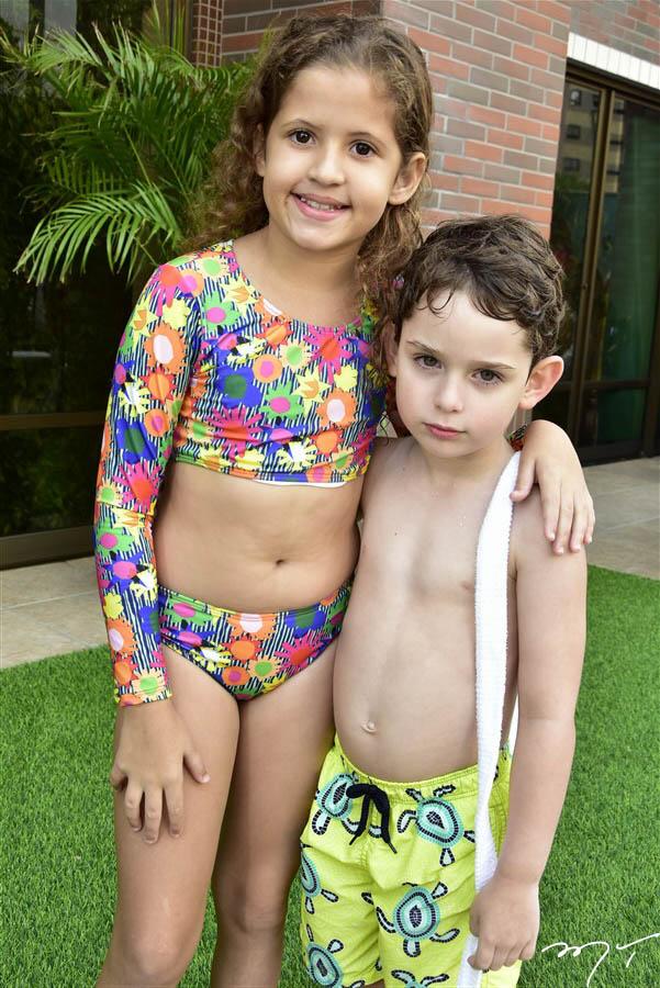 Yasmim Rodrigues e Sylvio Leal