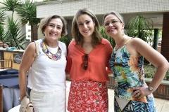 Teressa Arruda, Silvia Leal e Tatiane Targino