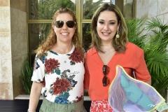Ticiana Rolim e Silvia Leal