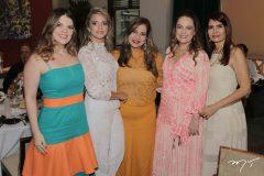 Erilan Girão, Michelle Aragão, Martinha Assunção, Erika Girão e Lorena Pouchain