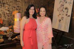 Inês Sobreira e Erika Girão