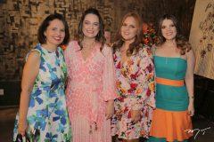Liana Meireles, Erika-Girão, Elda Meireles e Erilan Girão