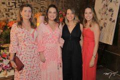 Marilane Girão, Erika-Girão, Larissa Rodrigues e Camila Mustafa
