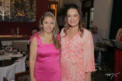 Marília Andrade e Erika Girão