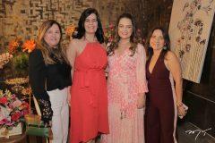 Naize Moreira, Inês-Sobreira,Erika Girão e  Luíza Reis