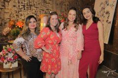 Raquel Viana, Juliana Oliveira, Erika Girão e Tricia Cunha