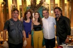 Antonio Rocha, Celina Hissa, Renata Marinho, Roberto Dias e Carlos Lebran