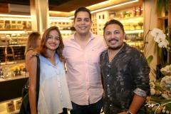 Bianca Cristen, Leonardo Freire e Marcilio Sousa