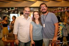 Bosco Couto, Marina Albuquerque e Ney Filho
