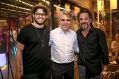 Cadeh Juaçaba, Marcos Braga e Carlos Lebran