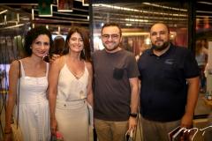 Carol Farias, Luce Galvão, Ramiro Mendes e Erico Monteiro