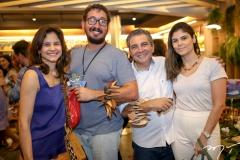 Celina Hissa, Ney Filho, Roberto Dias e Beatriz Miranda