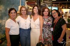 Diana Cavalcante, Vera Albuquerque, Luce Galvão, Veronica Barreira e Nereide Figueiredo