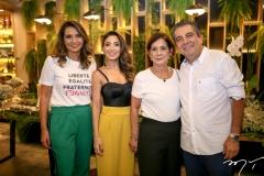 Marcia Travessoni, Renata Marinho, Diana Cavalcante e Roberto Dias
