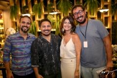 Marcos Braga, Marcilio Sousa, Luce Galvão e Ney Filho