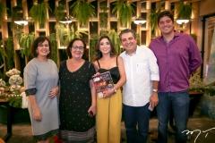 Neuma Figueiredo, Nereide Figueiredo, Renata Marinho, Roberto Dias e Leonardo Marinho