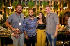 Ney Filho, Marcos Braga, Roberta Marinho e Rafael Studart
