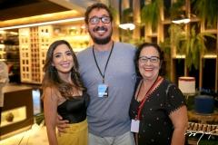 Renata Marinho, Ney Filho e Nereide Figueiredo
