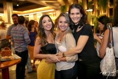 Roberta Marinho, Clariane Aguiar e Daniela Araujo