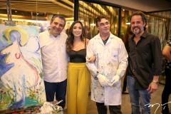 Roberto Dias, Renata Marinho, Antonio Rocha e Carlos Lebran