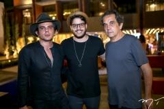 Sergio Gurgel, Cadeh Juaçaba e Solon Ribeiro