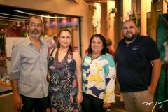Sidiney Viana, Marcia Albuquerque, Magdalena Bonfim e Erico Monteiro