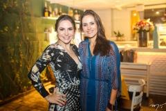 Adriana Queiroz e Manoela Barcelar