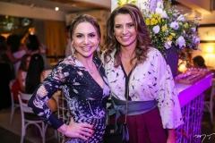 Adriana Queiroz e Márcia Travessoni