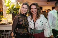 Camille Cidrão e Márcia Travessoni