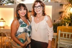 Carmen Cinira e Lúcia Wolf