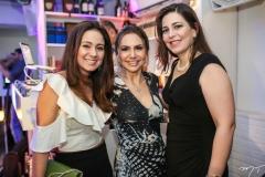 Claudiana Loureiro, Adriana Queiroz e Luciana Gentil