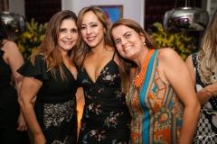 Cristiane Figueiredo, Letícia Macedo e Taisa Luis